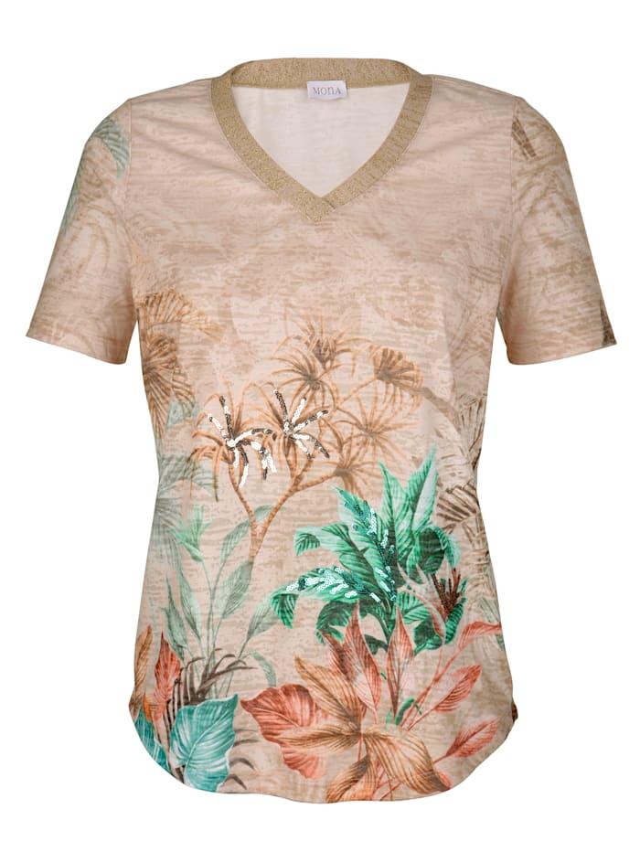 Shirt in Ausbrenner-Qualität