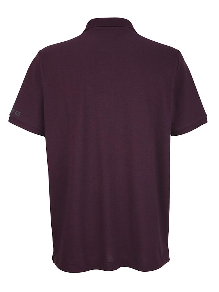 Poloshirt mit Druck im Vorderteil