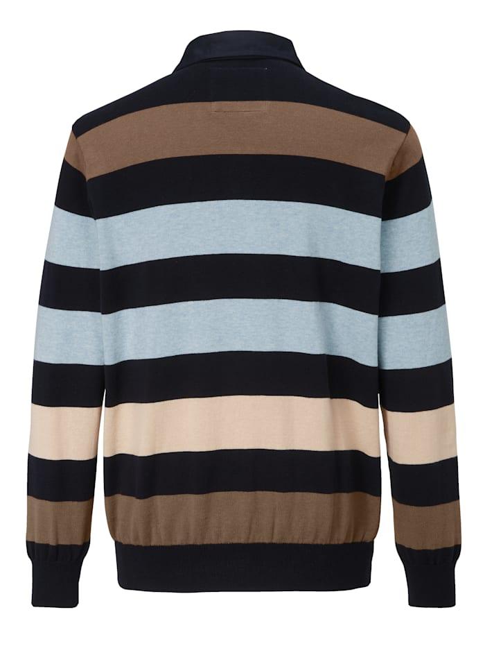 Pullover in garngefärbter Qualität