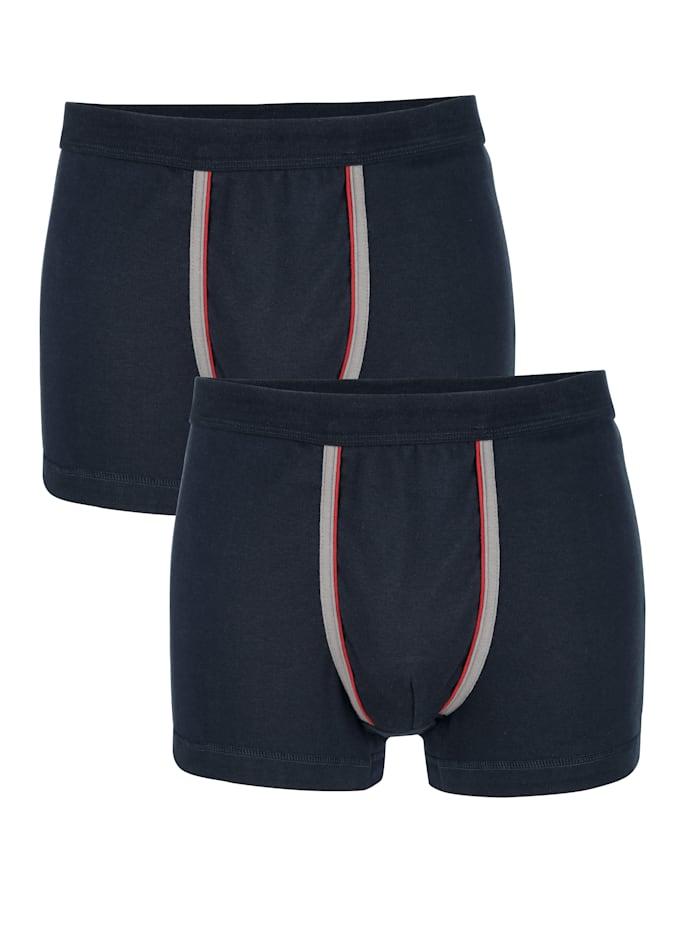 Pants mit Kontrastpaspelierung 2er Pack