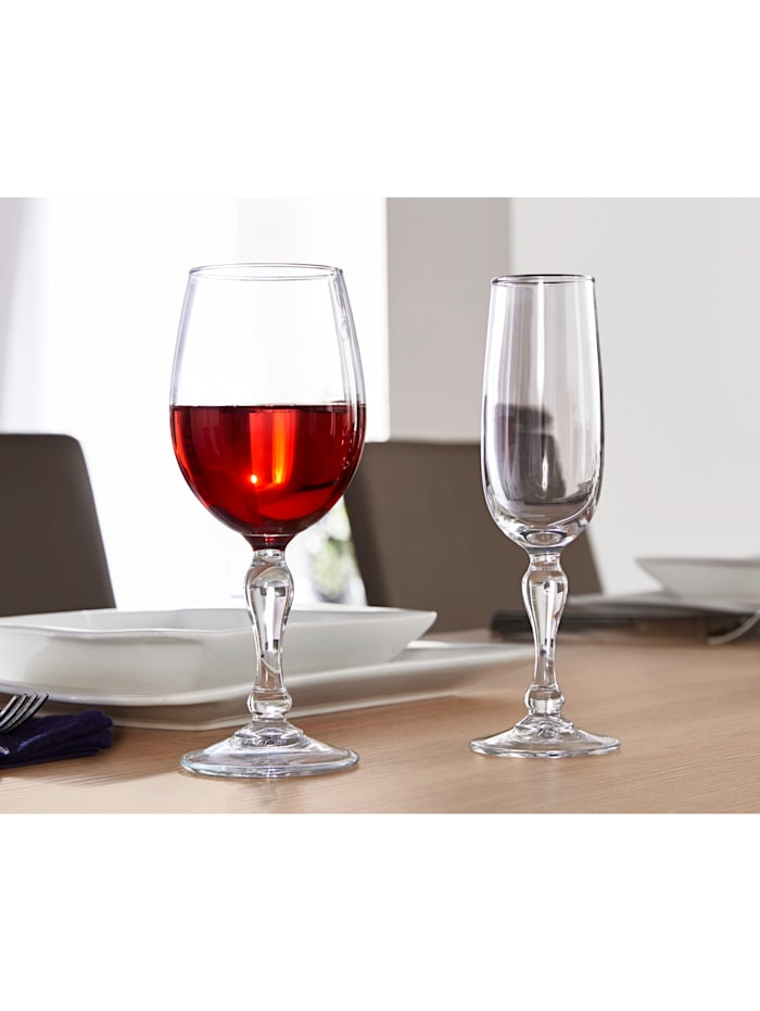 6 pohárov na červené víno