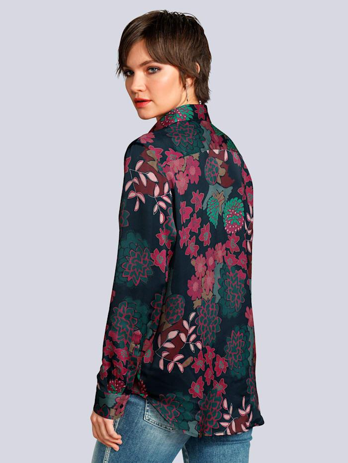 Bluse im tollen Blumenprint