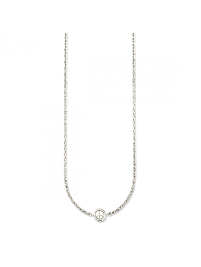 CAI Collier 925/- Sterling Silber 39+4cm Glänzend, weiß