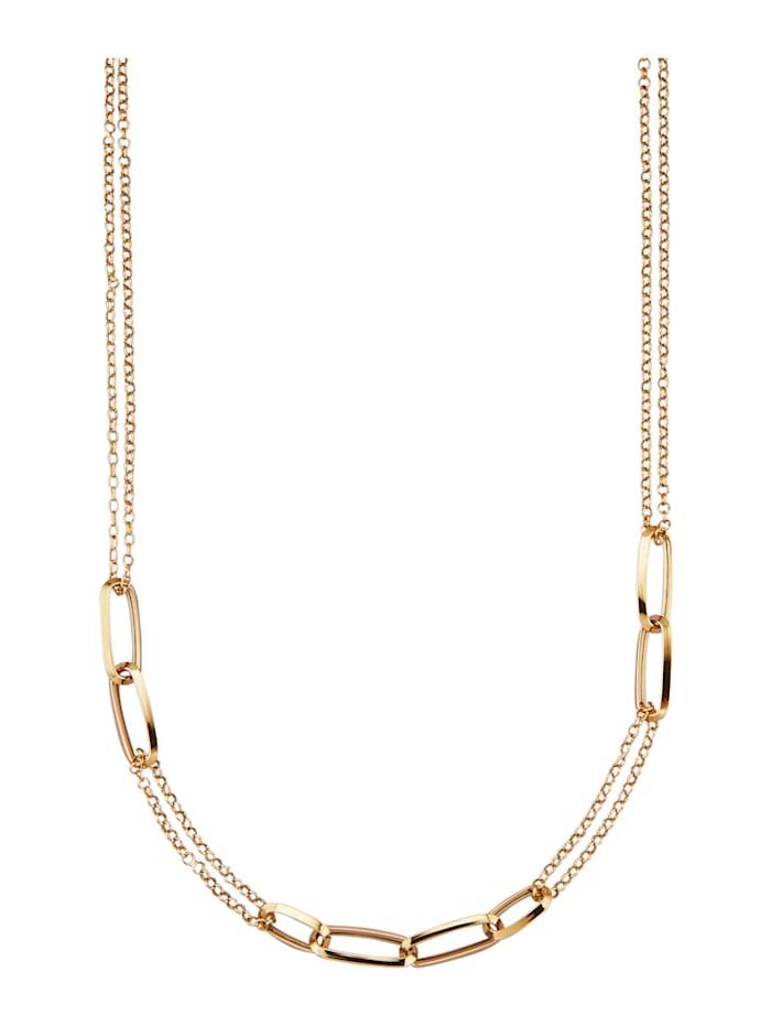 AMY VERMONT Halsband i guld 14 k, Guldfärgad