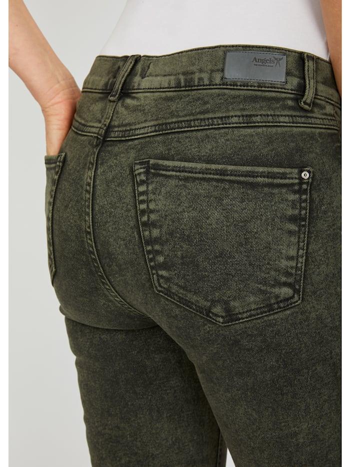 Jeans 'Skinny' mit trendiger Waschung