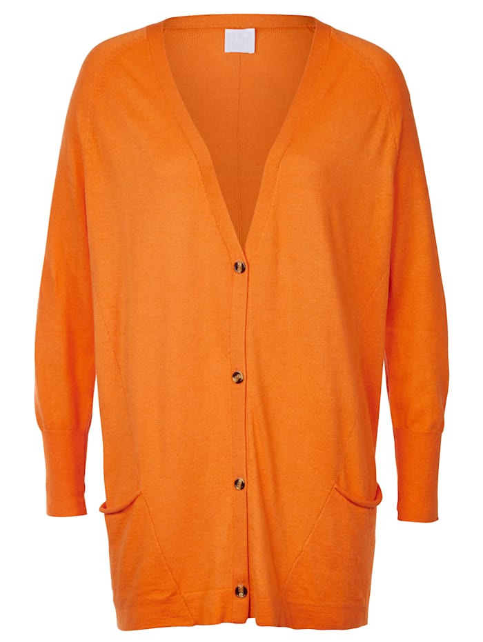 REKEN MAAR Strickjacke, Orange
