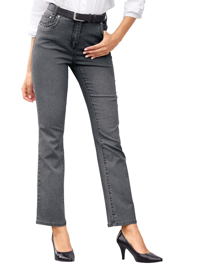 Paola Jeans geeignet für Autofahrer, Grau