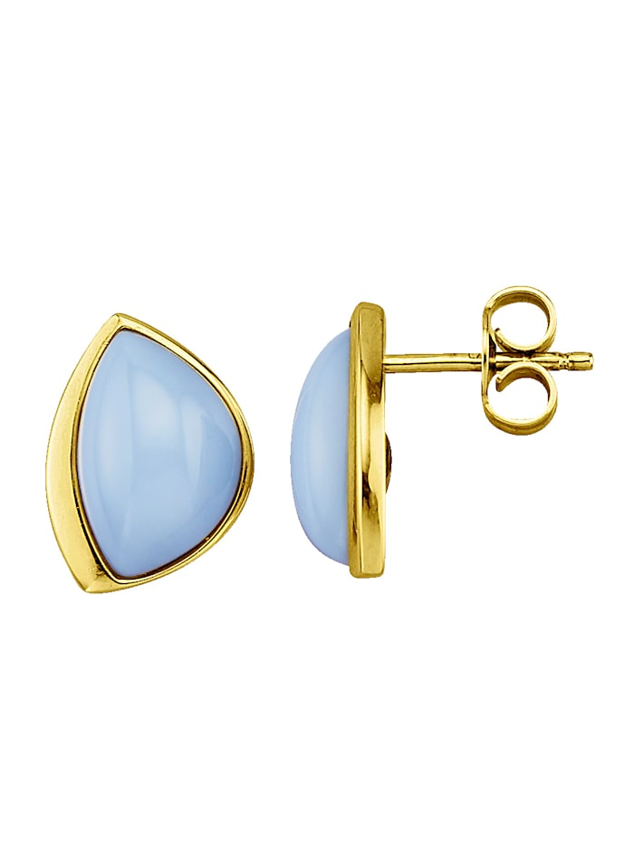Korvakorut, joissa siniset opaalit