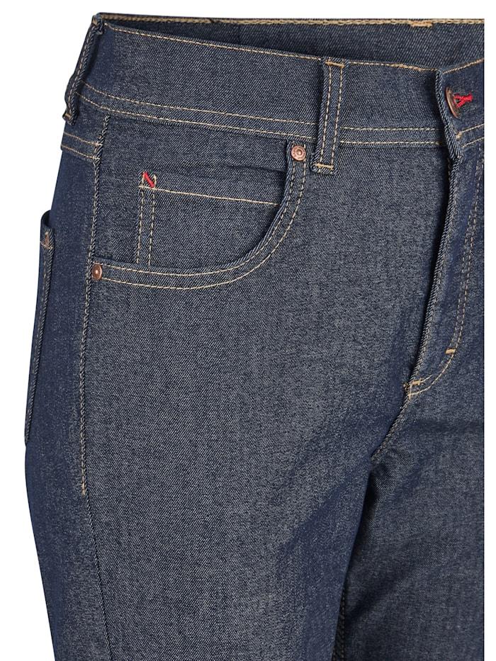 Ankle-Jeans 'Ornella Revival' mit Kontrastnähten