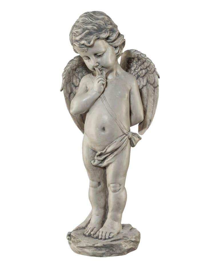 Creativ Deco Figurine Ange, Gris