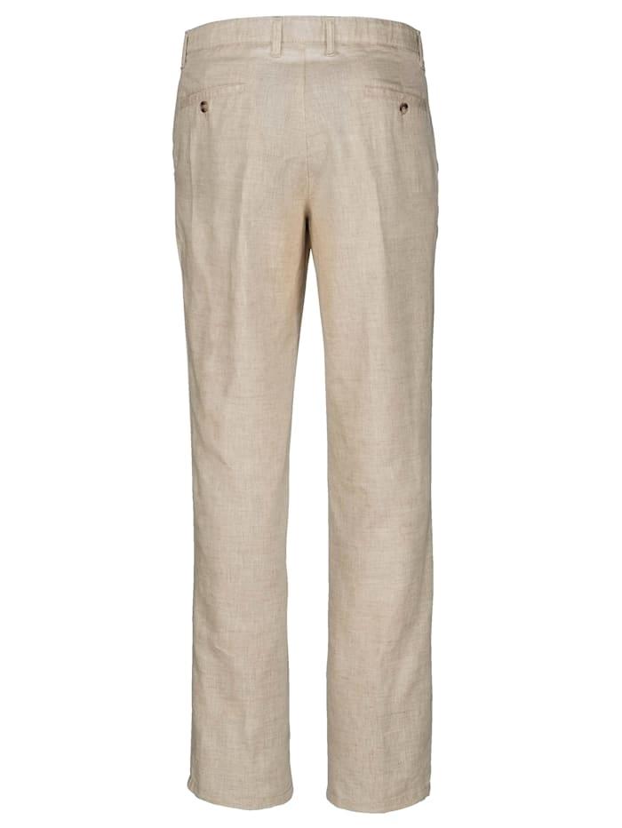Lněné kalhoty v lehké letní kvalitě