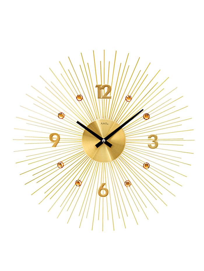 AMS Nástěnné hodiny, Barva žlutého zlata