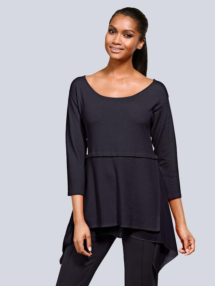 Pullover in Lagen-Look
