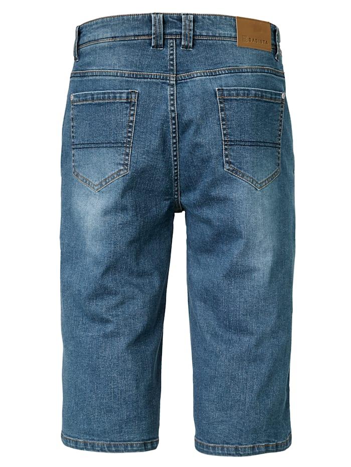 Jeansbermuda in 3/4 Länge