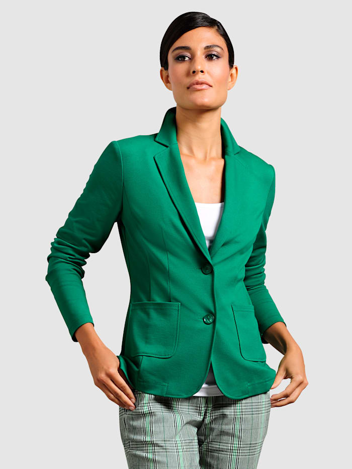 Jerseyblazer in modischer Farbgebung
