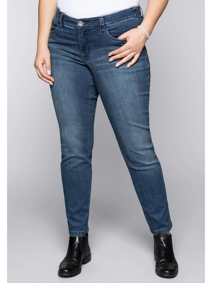 Sheego Sheego Jeans, dark blue Denim