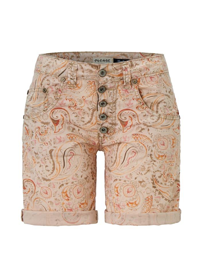 PLEASE Shorts, Beige