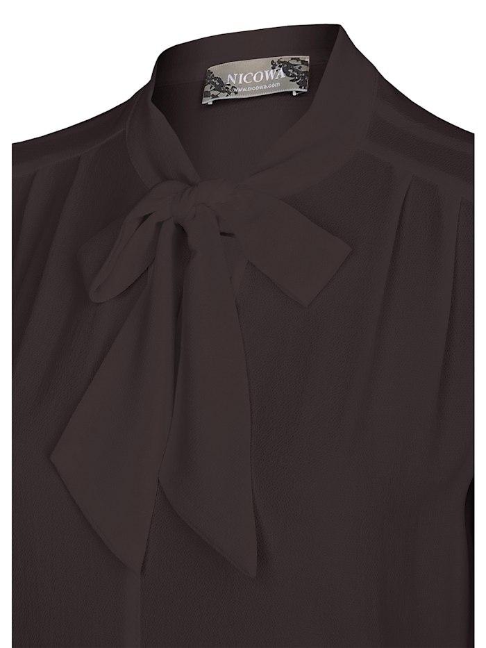 Luftige Bluse NELSA mit geschmackvoller Schleife