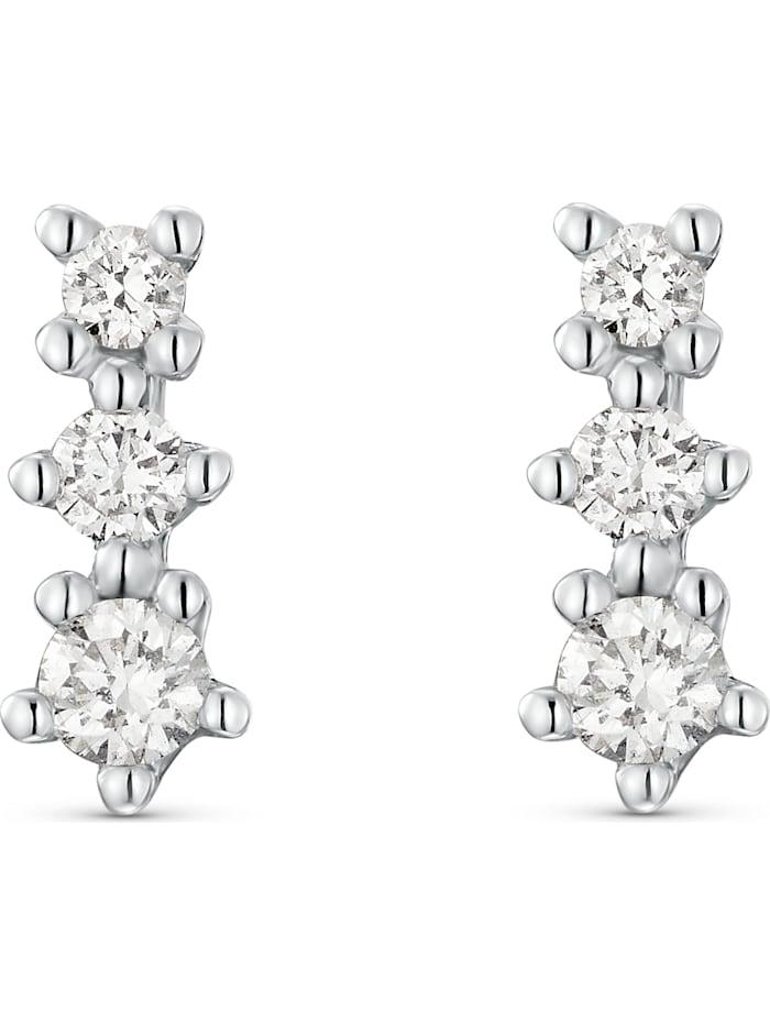 CHRIST Diamonds CHRIST Diamonds Damen-Ohrstecker 585er Weißgold 6 Diamant, weißgold