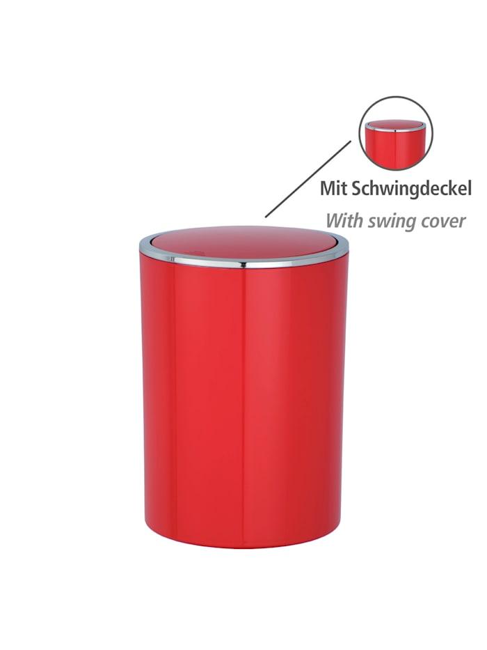 Schwingdeckeleimer Inca Red, hochwertiger Kunststoff, 5 Liter