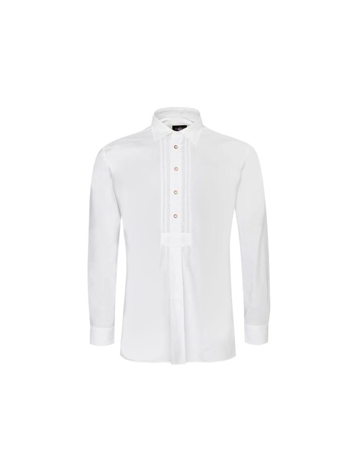 Hammerschmid Trachtenhemd, Weiß
