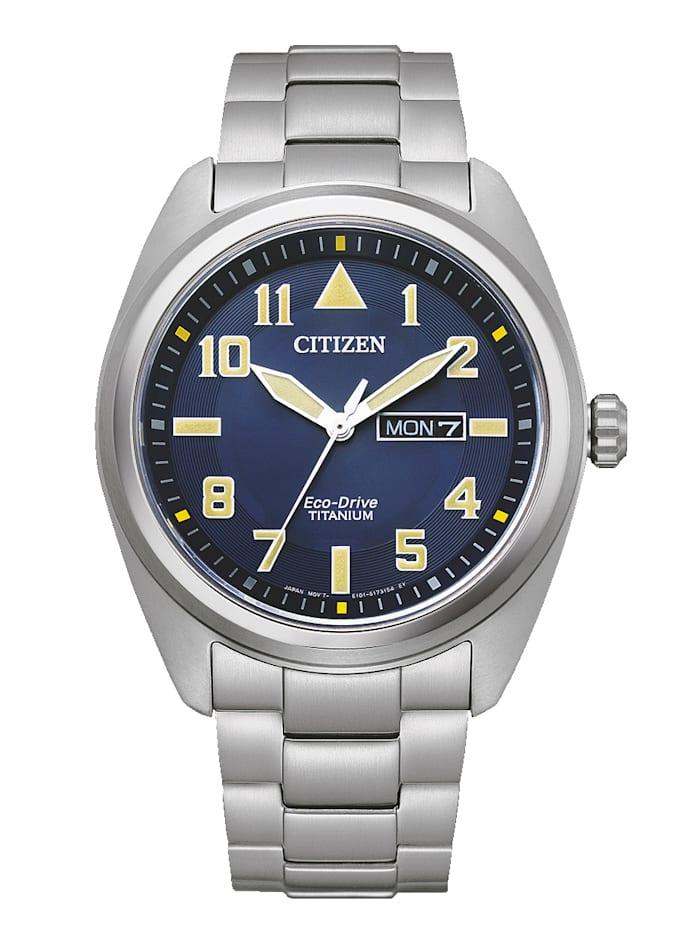 Citizen Herrenuhr Eco Drive Eco-Drive, BM8560-88LE, Silberfarben