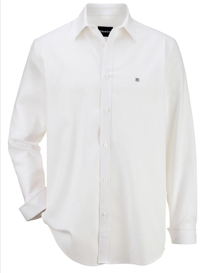 BABISTA Overhemd van een linnenmenging, Wit