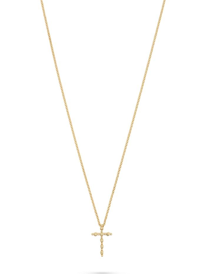 CHRIST GOLD CHRIST Gold Damen-Kette Collier Kreuz, gelbgold