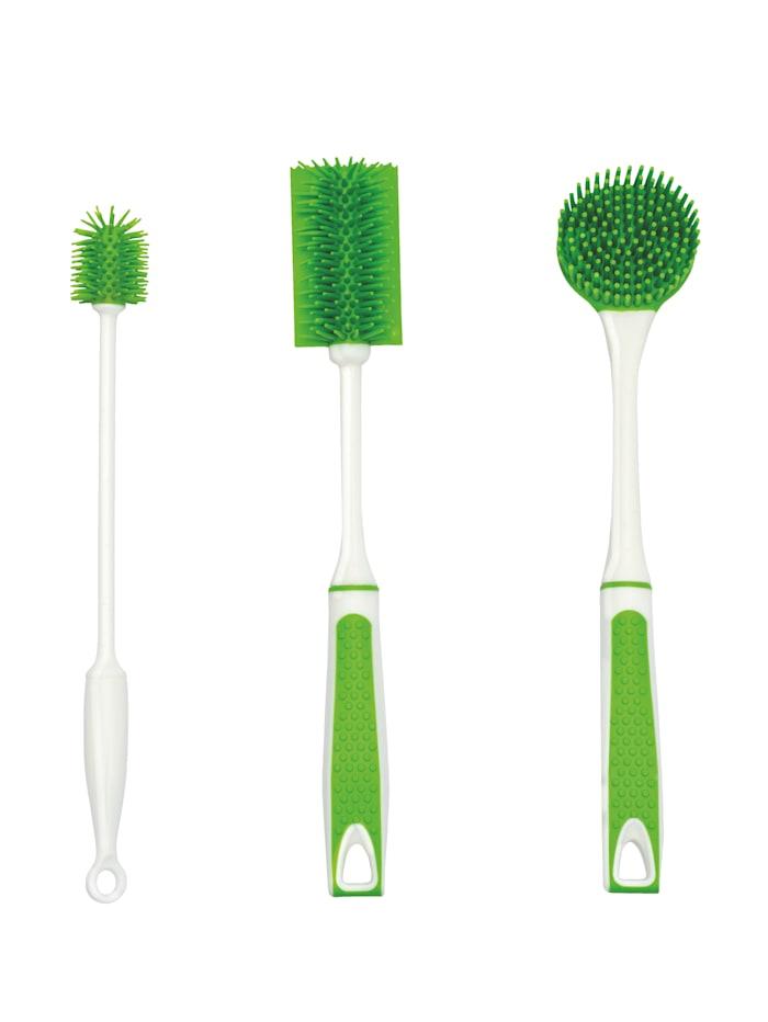 UPP Brosses silicone, vert, Vert