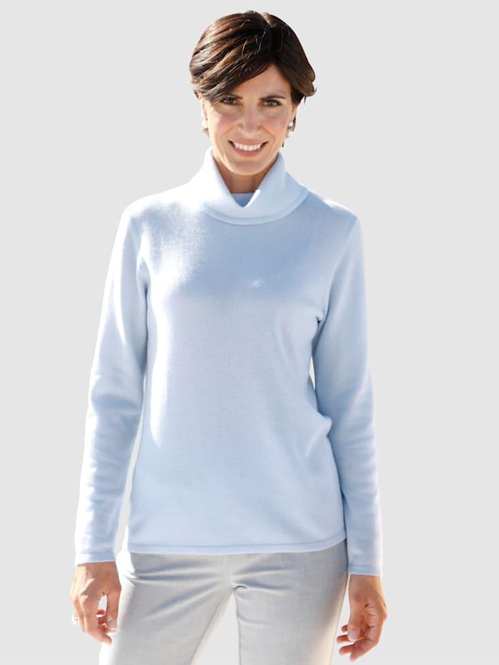 Paola Polotröja av kashmir, Ljusblå