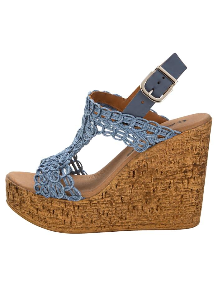 Sandaaltje in macramélook