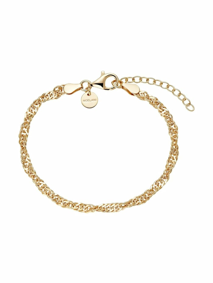 Armband für Damen, Sterling Silber 925 vergoldet