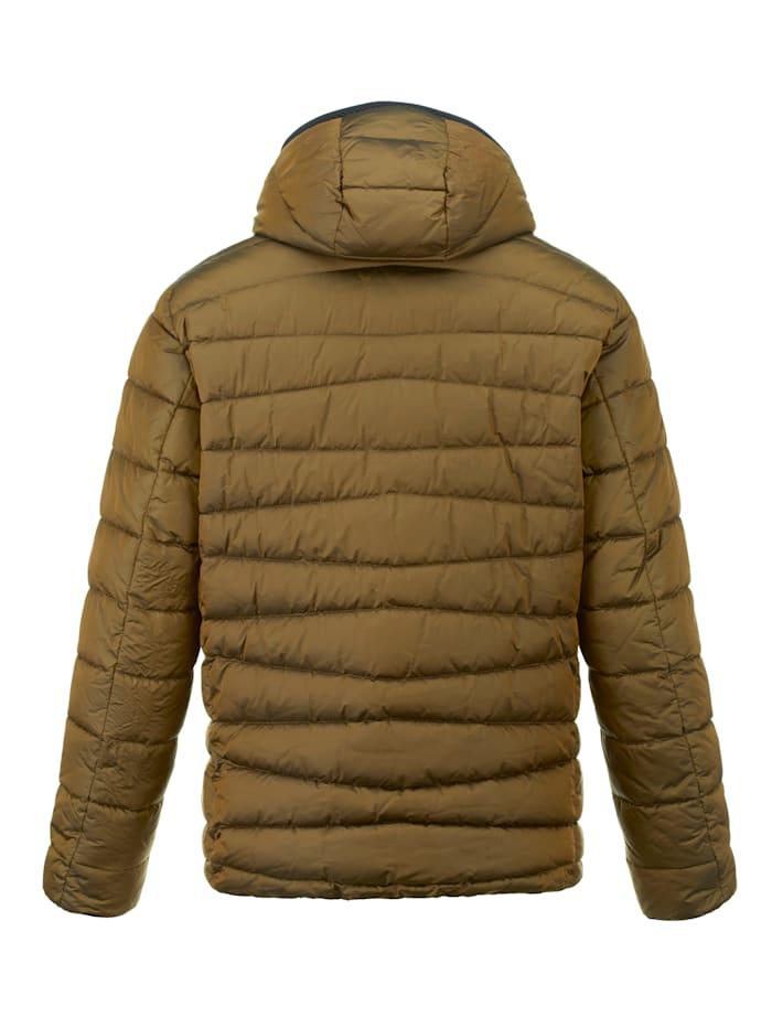 Gewatteerde jas in een bijzondere kleur