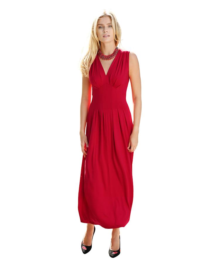 Jerseykleid mit Unterbrustnaht