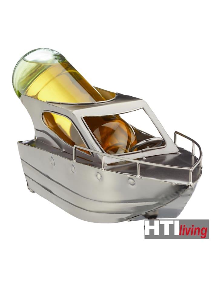 Weinflaschenhalter Motorboot