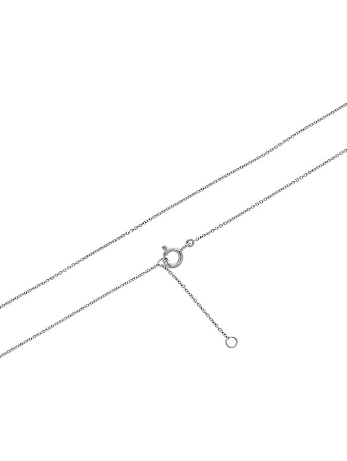 CHRIST Gold Damen-Kette 375er Weißgold 17 Diamant