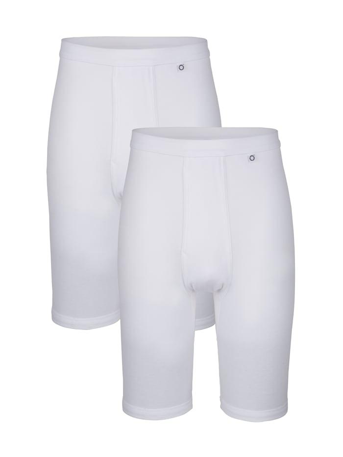 Pfeilring Knelange underbukser, Hvit