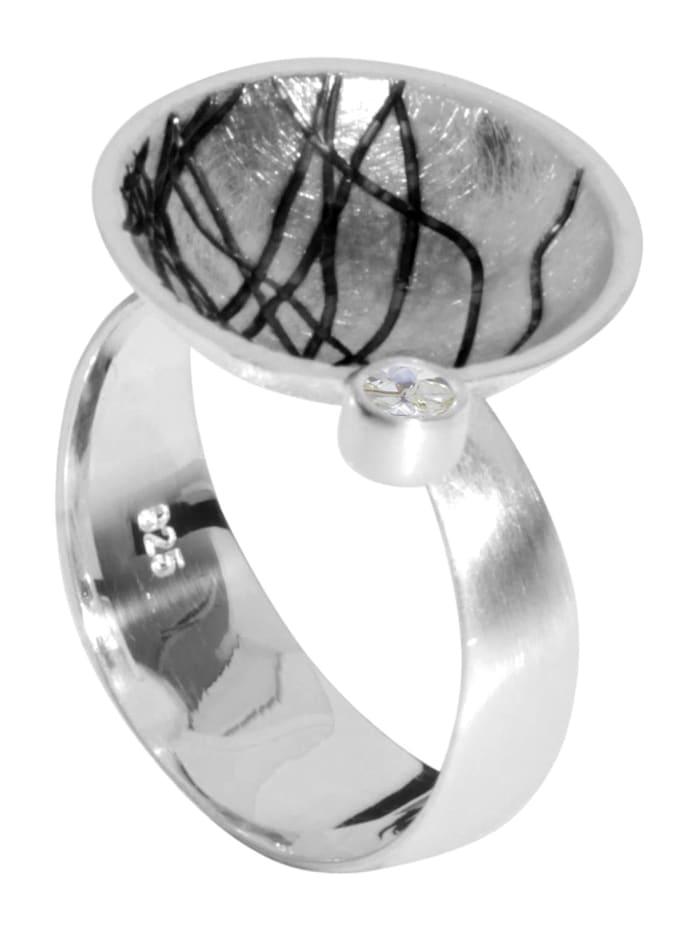 OSTSEE-SCHMUCK Ring - Sarah Vicenza - Silber 925/000 - Zirkonia, silber