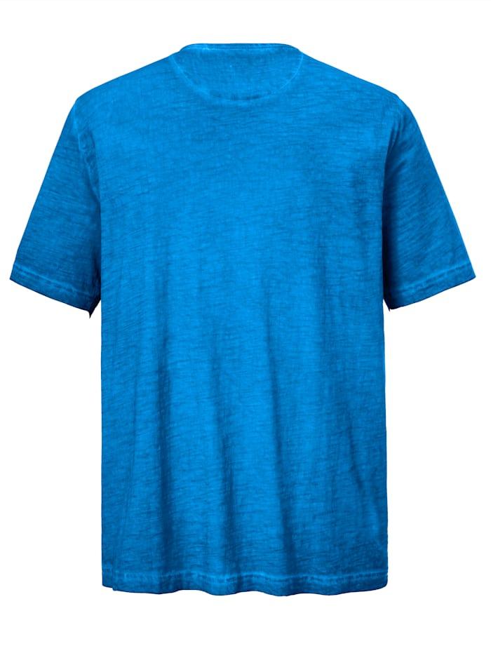 T-shirt à effet usé