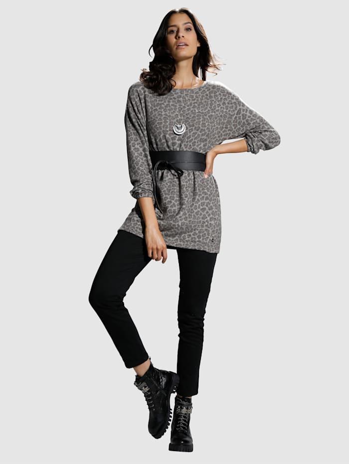 Pullover mit Animal-Dessin