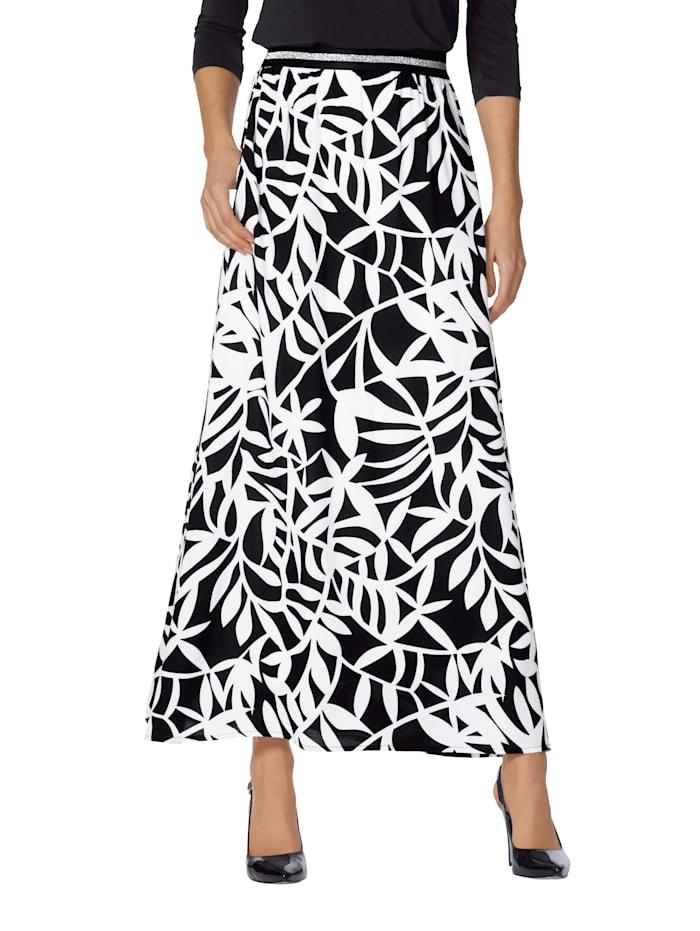 Kjol med läckert mönster