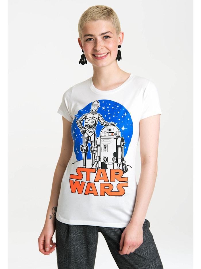 T-Shirt Star Wars Droids mit coolem Retro-Druck