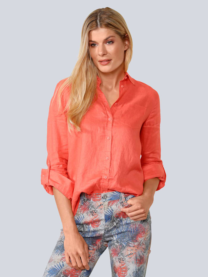 BRAX Bluse in toller Farbe, Orange