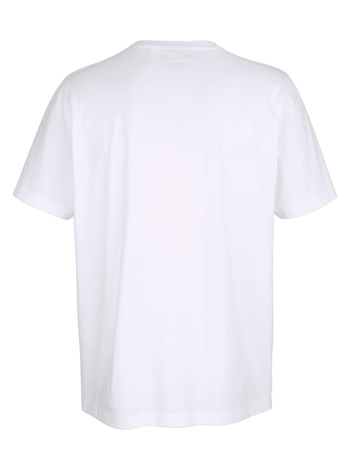 T-shirt à imprimé placé devant