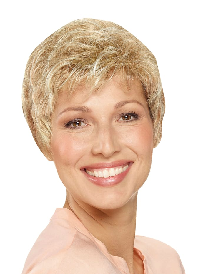 Lofty Perruque Svenja, blond clair miel/nuque foncée