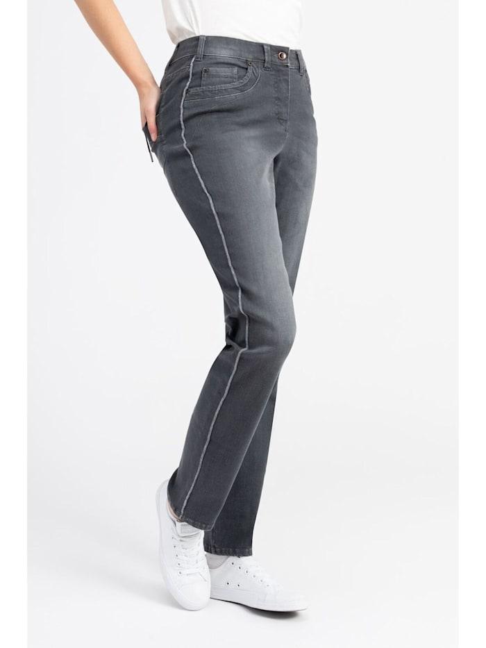 Jeans mit Reißverschlußtaschen