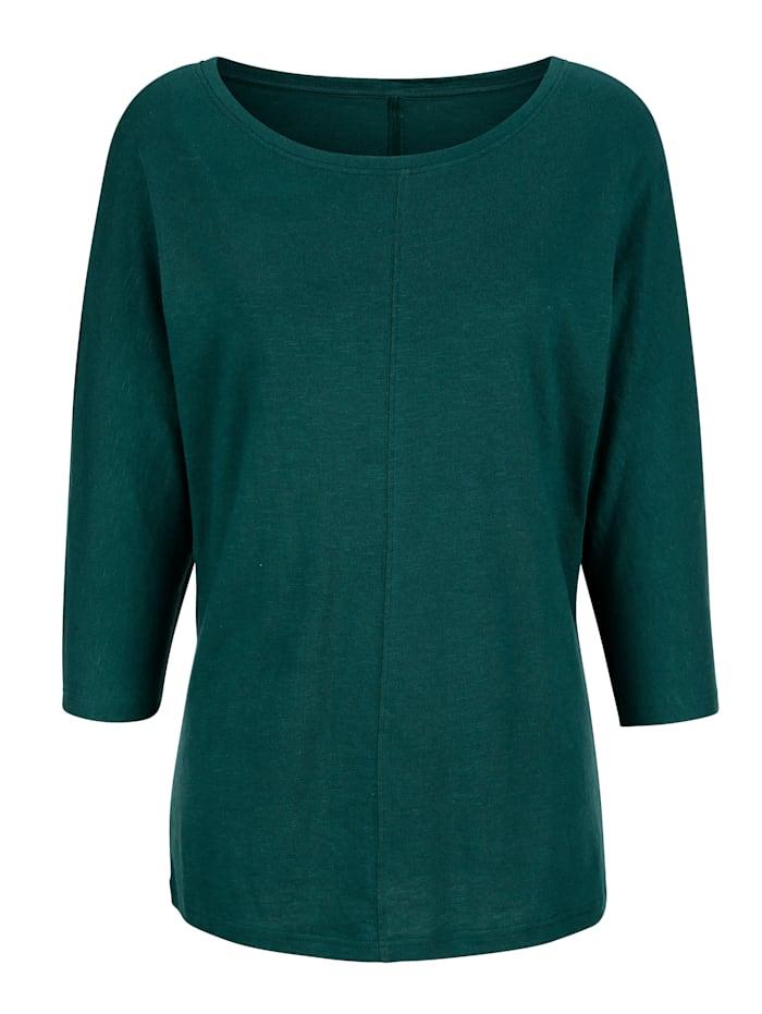 Tričko s deliacim šitím