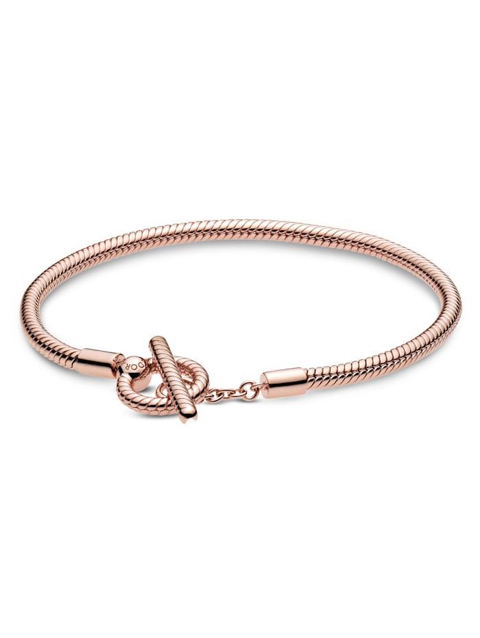 Pandora Armband mit T-Verschluss - 589087C00-20, Rosé