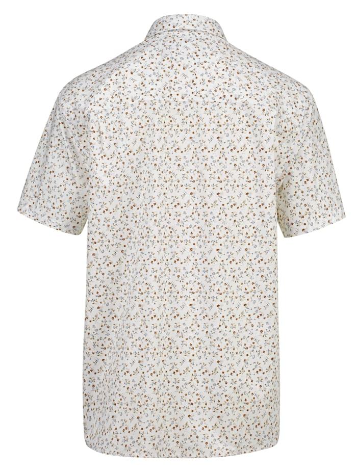 Košile s květinovým potiskem
