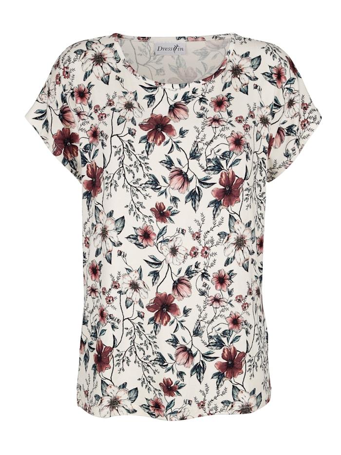 Kukkakuosinen paita